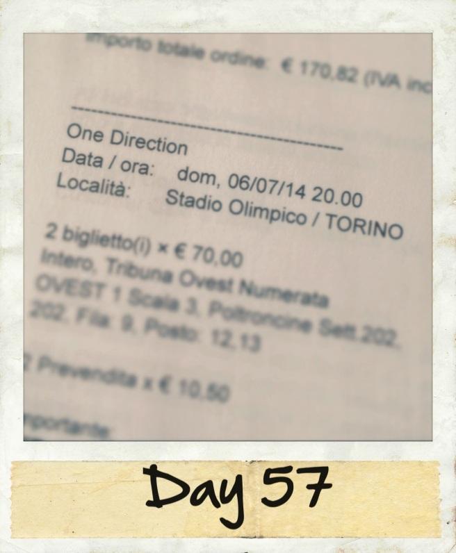 Ho ceduto e ho comprato i biglietti :)